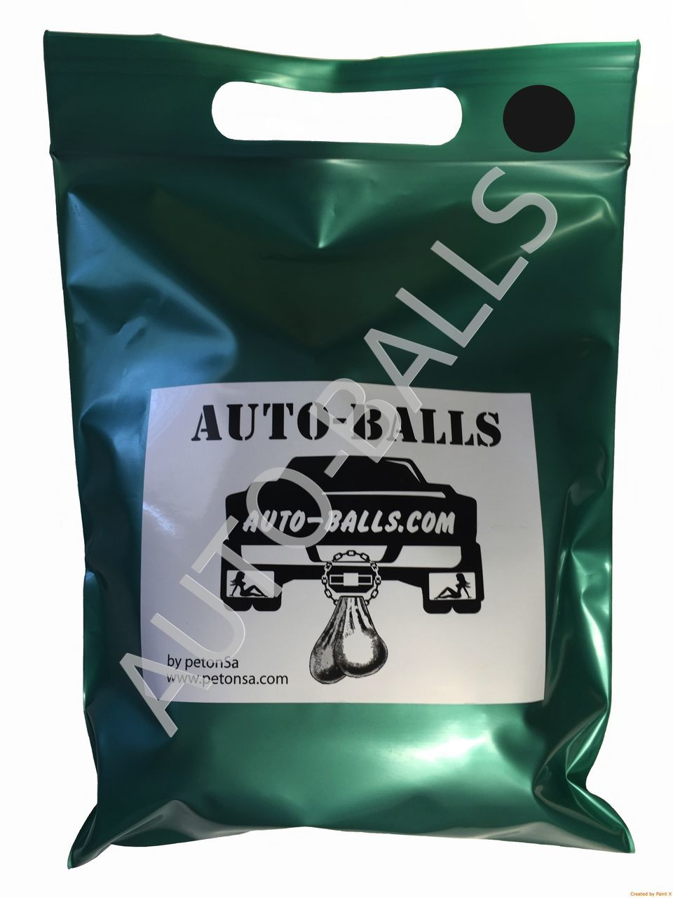 Auto-Balls Black, made in USA